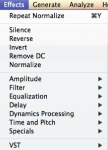 Review Ocenaudio editor.pages